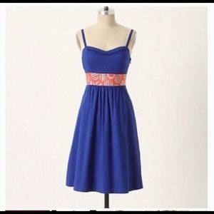 Anthropologie Dress Edme and Estylle Size 10 euc